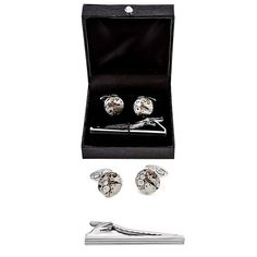 MRCUFF Steampunk Watch Pair of Cufflinks and Tie Bar Clip with a Presentation Gift Box -- Find out more details by clicking the image : Gift for Guys