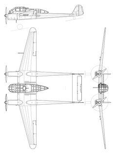 File:Focke Wulf Fw 189A-1.svg
