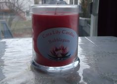 Soy Wax Candle with Hidden Random Jewelry by CoraLilyCandles