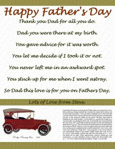 father's day letter from son