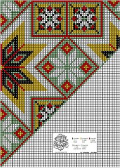 Folk Embroidery, Beaded Earrings, Cross Stitch Patterns, Needlework, Textiles, Crochet Rope, Bead Crochet, Beads, Folk Costume