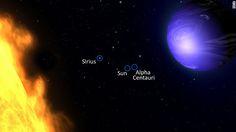 Hubble telescope spots azure blue planet where it rains glass