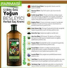 Yoğun Besleyici Saç Kremi  Farmasi pure herbal hair conditioner @farmasiofficial @farmasicosmetics #farmasi #saçbakım #saçbakımı #saçkremi#beauty #bitkiselsaçbakımı