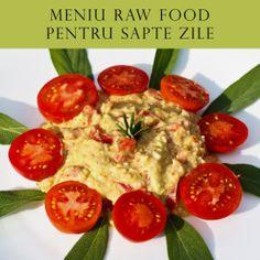 Meniul raw food pe o saptamana Raw Vegan Recipes, Vegetarian Recipes, Vegan Food, Pump It Up, I Want To Eat, Health And Nutrition, Avocado, Menu, Vegetables