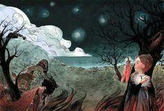 Art by astrid     *Dante e Beatrice*
