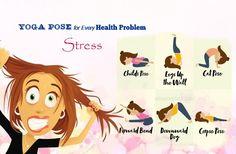 yoga pose for every health problem - stress