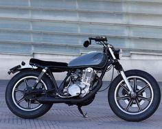 Yamaha SR500 Brat Style – Cafe Racer SSpirit