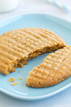 Recipe for One Flourless Peanut Butter Cookie - Cooking Classy