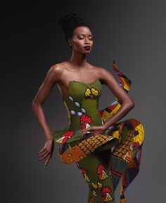 V-Inspired~Latest African Fashion, African women dresses, African… African Inspired Fashion, African Print Fashion, Africa Fashion, Ethnic Fashion, African Prints, Men's Fashion, Fashion Textiles, Fashion Women, African Dresses For Women