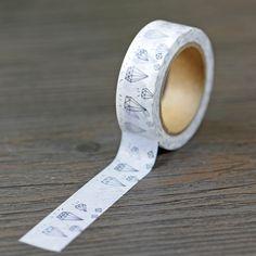 Hand Zeichnung Diamant Washi Tape 1,5 cm x 10 mt Scrapbooking Aufkleber Geschenkverpackung Aufkleber Maskierung Papier Bänder Album Deco