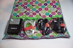 Great traveling cord organizer for all those things that need to be charged while you are away....