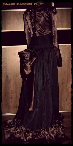 Bolero and skirt from black-garden.pl # clothes # steampunk # lady ardzesz # goth # gothic # victorian