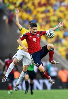 Fotos | Colombia vs Brasil , Cuartos de Final. (Parte 1)