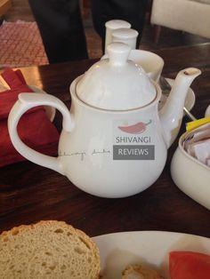 A pot of Masala Tea (spiced tea)