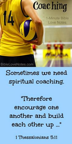 Sometimes we need help in a specific area of our spiritual lives. This 1-minute devotion discusses what spiritual coaching is and how it can be a supplement to regular discipleship.