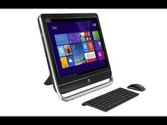 """HP Pavilion TouchSmart 23"""" Touch-Screen All-In-One Desktop (Model: 23-h024) - Hands-On Review - http://cpudomain.com/desktops/hp-pavilion-touchsmart-23-touch-screen-all-in-one-desktop-model-23-h024-hands-on-review/"""