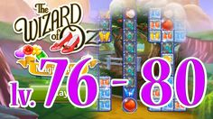 Wizard of Oz: Magic Match - Level 76 - 80 (1080/60fps)