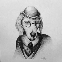 Illustration - black and white