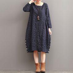 Autumn Loose Long Sleeved Dress