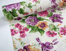Colorful Flowers Colage - 280cm - Colectie limitata!!!