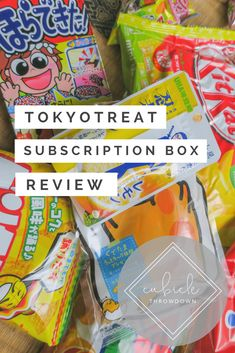 TokyoTreat Unboxing: Japanese Candy Dreams Come True