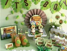 Jungle Baby Shower Inspiration