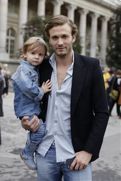 Father and son. Which one is more swoon-worthy?