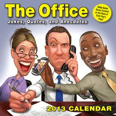 The Office Desk Calendar: Long meetings, jammed copiers, loud coworkers, and empty coffee pots—that's office life. Fortunately, the The Office 2013 Day-to-Day Calendar offers enough laughs to get employees through the workweek.  $13.99  http://calendars.com/Office-Humor/The-Office-2013-Desk-Calendar/prod201300000348/?categoryId=cat00110=cat00110#
