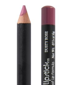 """Dusty Rose (Red Apple Lipstick) [""""Dusty Rose indeed with a hint of mauve. This lip liner will be very natural on women with a very pink base lip color or for those wanting to match a lipstick more closely such as Audrey, Maven Mauve, Ooh La La, Mabel and others. Dusty Rose will be gorgeous all on its own – use it to fill in the entire lip after applying Rallye Balm. Then top with some more Rallye Balm or gloss and you have a stunning neutral lip for all-day wear.""""]"""