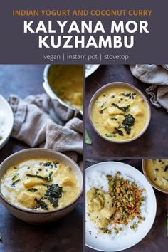 Mor kuzhambu - South Indian yogurt and coconut curry.. Tambram style Indian kalyana mor kuzhambu recipe is a delicious  comforting yogurt based curry with coconut, spices and veggies.. Serve  this with a bowl of rice for a nutritious meal..! #yogurt #vegetarian #instantpot #curry #indianfood #tambram #southindianfood #coconutcurry #pumpkinrecipes | cookingwithpree.com