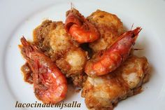 Seafood Dishes, Seafood Recipes, Cooking Recipes, Good Food, Yummy Food, Food Decoration, Chicken Salad Recipes, Food Humor, Healthy Smoothies