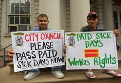 New York City to get paid sick days | Jason Gooljar | WFPman