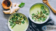 Nourishing Ginger & Broccoli Soup (vegan)