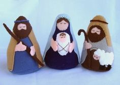 Nativity Felt Set - Patterns and Instructions