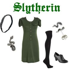 Slytherin outfit