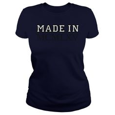 Made in MCMLXV 1965 Birthday Vintage T-Shirt #gift #ideas #Popular #Everything #Videos #Shop #Animals #pets #Architecture #Art #Cars #motorcycles #Celebrities #DIY #crafts #Design #Education #Entertainment #Food #drink #Gardening #Geek #Hair #beauty #Health #fitness #History #Holidays #events #Home decor #Humor #Illustrations #posters #Kids #parenting #Men #Outdoors #Photography #Products #Quotes #Science #nature #Sports #Tattoos #Technology #Travel #Weddings #Women