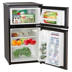 Emerson 3.1 Cu. Ft. 2-Door Compact Fridge and Freezer  4 1/2 stars  On sale