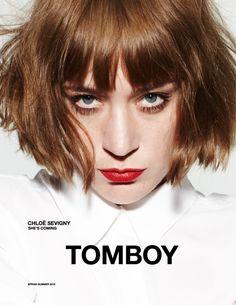 chloe sevigny1 Chloe Sevigny for Tomboy Spring 2012 Campaign by Daniel Jackson