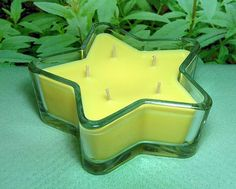 Lemon Verbena PURE SOY Star Container Candle 11 oz.