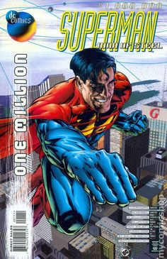 Superman: The Man of Steel - Fear and Loathing (Issue) Batman Y Superman, Superman Man Of Steel, Superman Stuff, Dc One Million, Comic Book Covers, Comic Books, Lar Gand, Dc Comics, General Zod