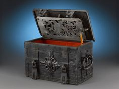 German strong-box from the1st half of 18th century ~ M.S. Rau Antiques