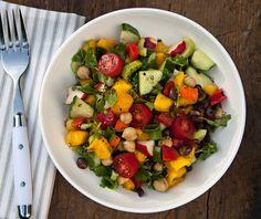 Crunchy Mango and Bean Salad