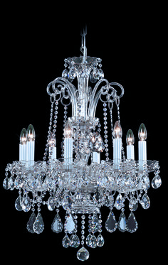 #Krumlov #TimelessHeritageCatalogue #Chandelier #LightingDesign #BohemianCrystal