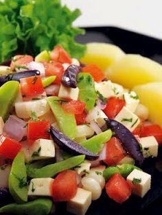 Solterito arequipeo, comida peruana.