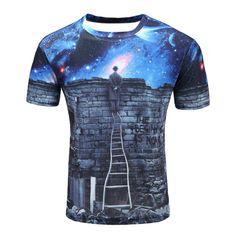 RAISEVERN Unisex Boys Girls 3D Graphic Printed T-Shirt Kids Short Sleeve Crewneck Tee Shirts 6-16 Years