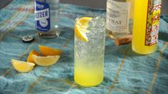 A sweet Italian liqueur, limoncello consists of lemon peels steeped in vodka, along with sugar and water, for anywhere from two days to up to a week.