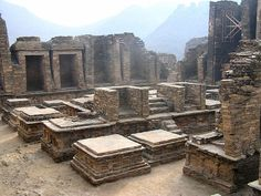 Takht Bhai (or Takht Bahi) is a Buddhist monastic complex dating to the 1st century BCE. The complex is regarded by archaeologists as being particularly representative of the architecture of Buddhist monastic centers from its era. It was listed as a UNESCO World Heritage Site in 1980