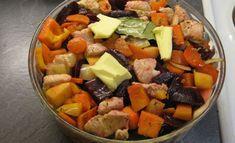 Edullinen pataruoka, joka valmistuu kuin itsestään - kokeile heti! Food N, Food And Drink, Fruit Salad, Cobb Salad, Pot Roast, Sweet Potato, Crockpot, Vegetables, Baking