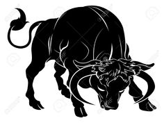 Find Illustration Stylised Black Bull Perhaps Bull stock images in HD and millions of other royalty-free stock photos, illustrations and vectors in the Shutterstock collection. Taurus Bull Tattoos, Bull Images, Tattoo Posters, History Tattoos, Best Tattoo Designs, Free Illustrations, Vector Art, Drawings, Taurus Horoscope