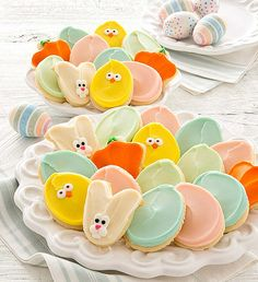 Buttercream Frosted Easter Cut-out Cookies $26.99 #cheryl's